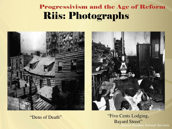 Riis: Photographs