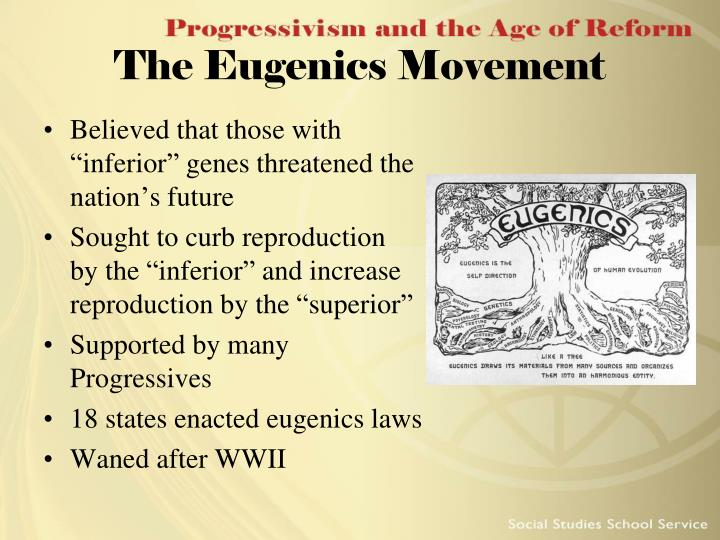 The Eugenics Movement