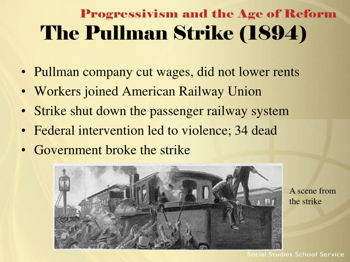 The Pullman Strike (1894)