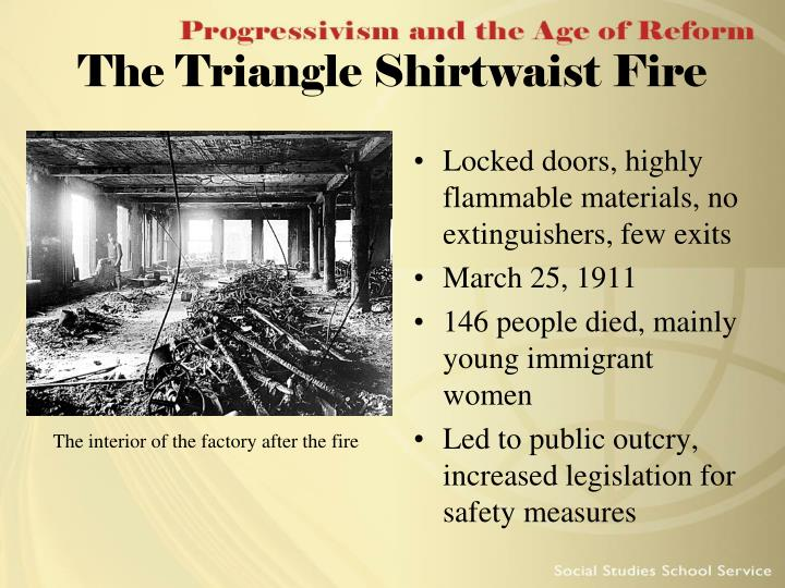 The Triangle Shirtwaist Fire