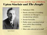 upton sinclair and the jungle