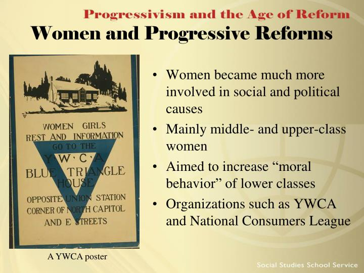 Women and Progressive Reforms