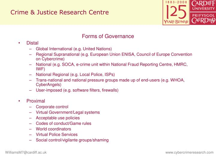 Crime justice research centre1