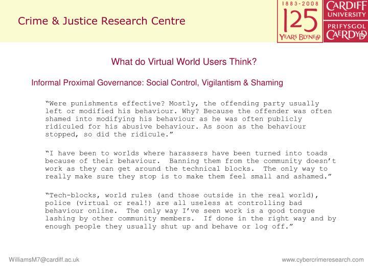 Crime & Justice Research Centre