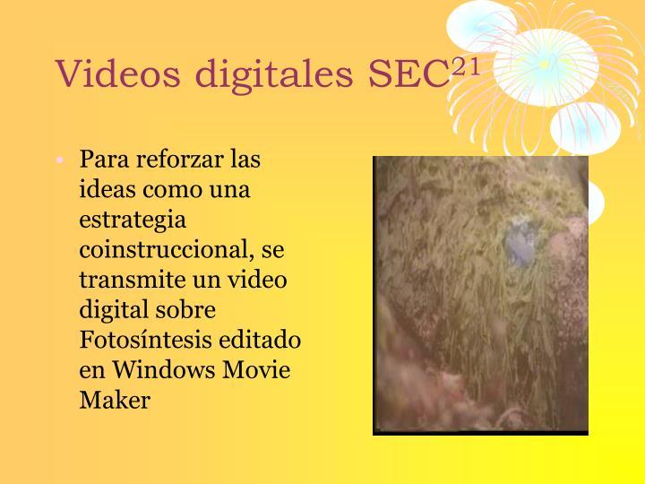 Videos digitales SEC