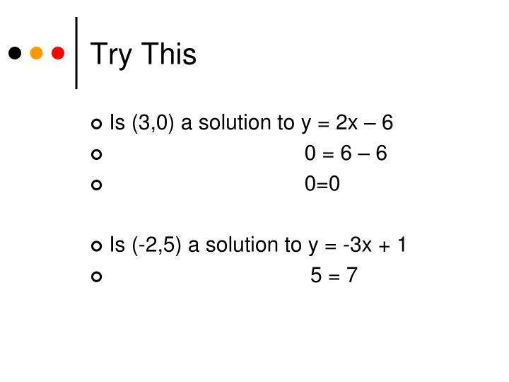 Try This