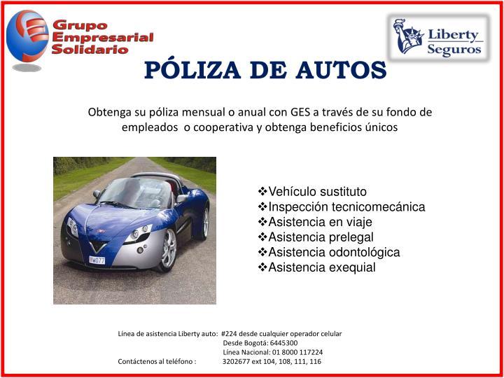 PÓLIZA DE AUTOS