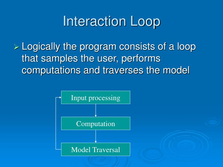 Interaction Loop