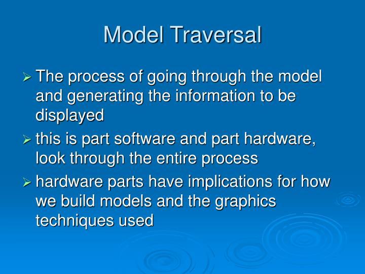 Model Traversal