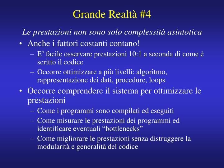 Grande Realtà #4