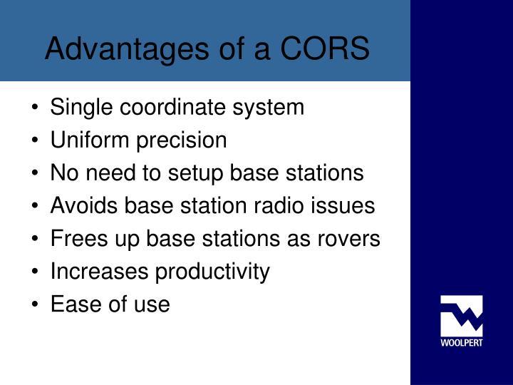 Single coordinate system
