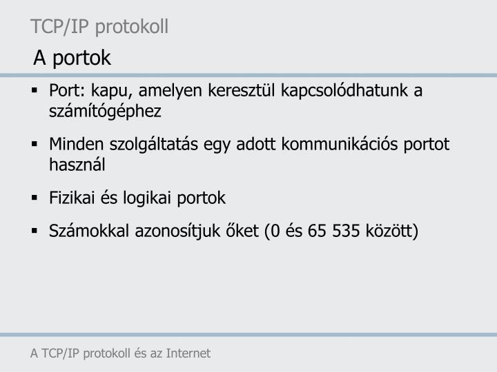 TCP/IP protokoll