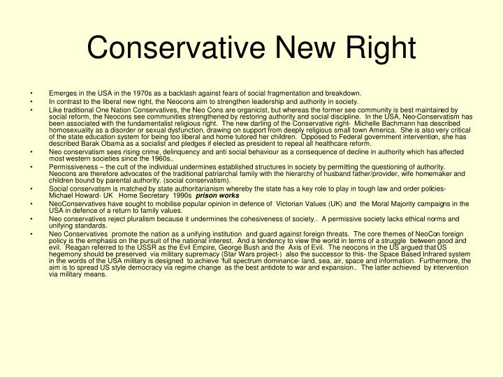 Conservative New Right