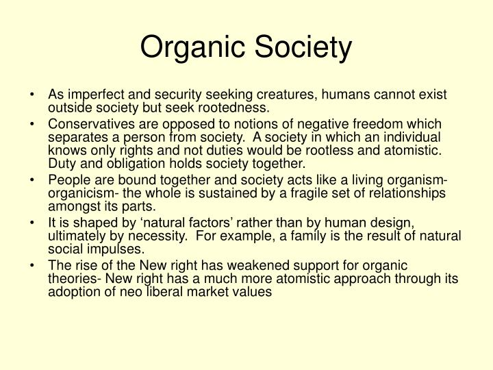 Organic Society