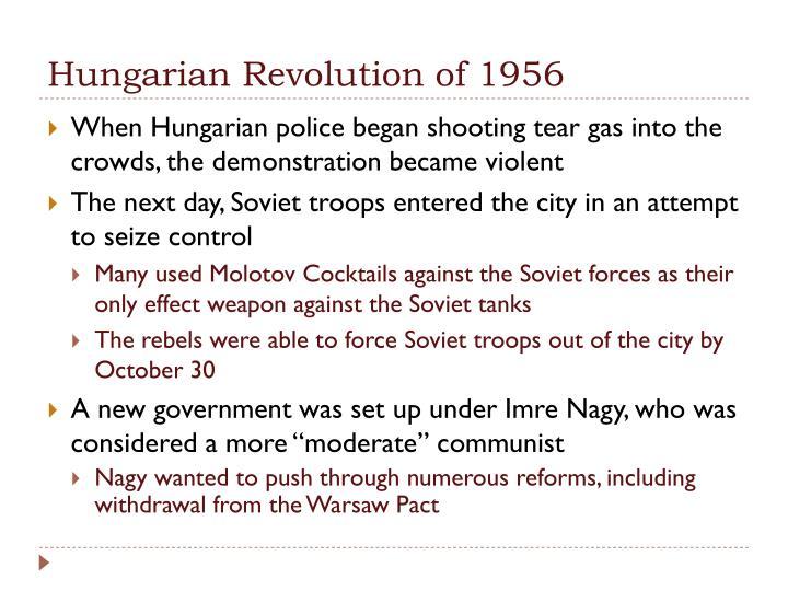 Hungarian Revolution of 1956