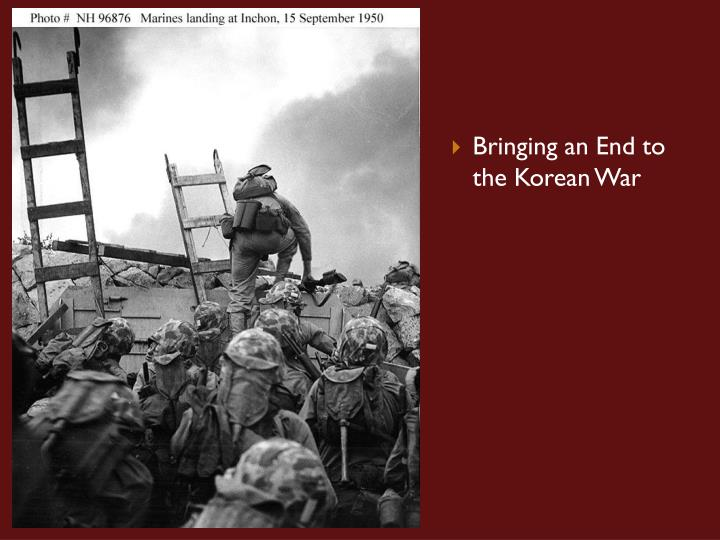 Bringing an End to the Korean War