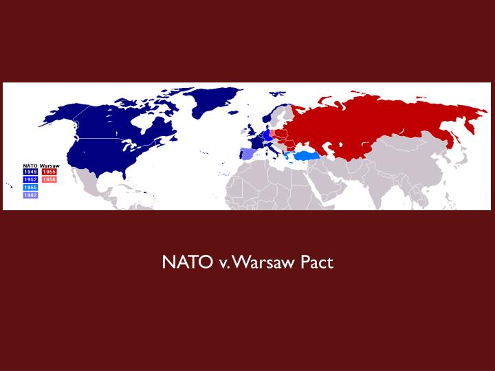 NATO v. Warsaw Pact