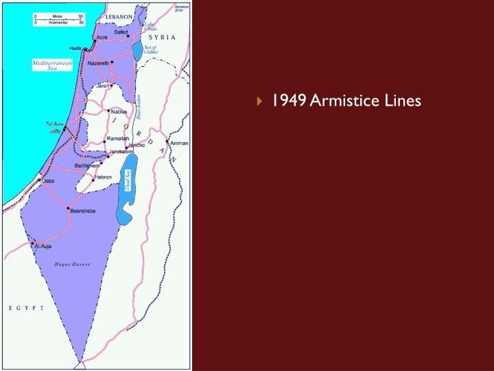 1949 Armistice Lines