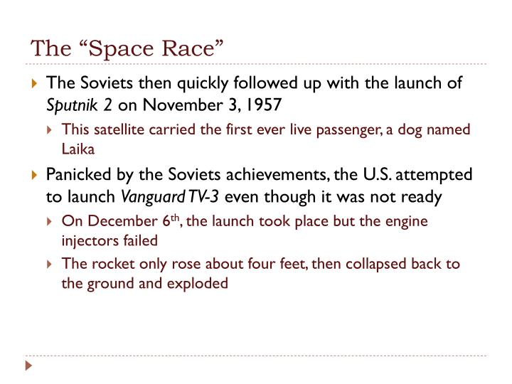 """The """"Space Race"""""""
