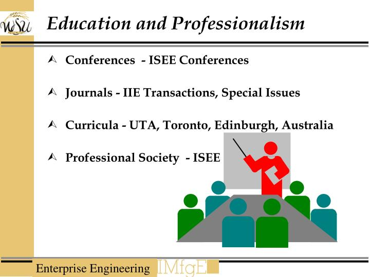 Education and Professionalism