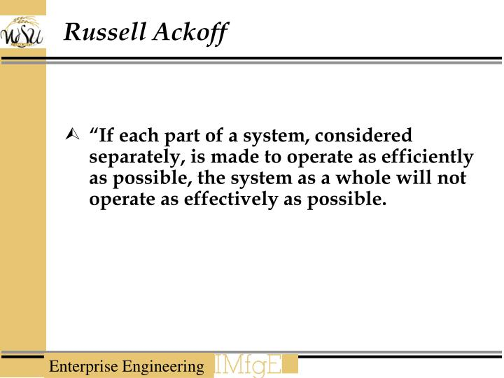 Russell Ackoff