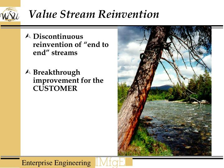 Value Stream Reinvention