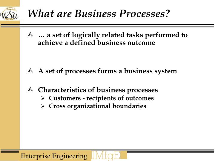 What are Business Processes?