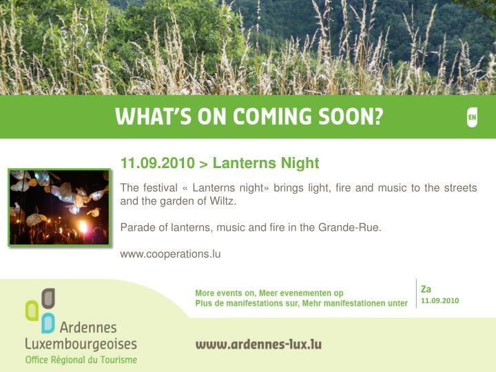 11.09.2010 > Lanterns Night