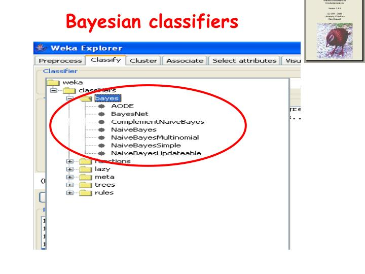 Bayesian classifiers