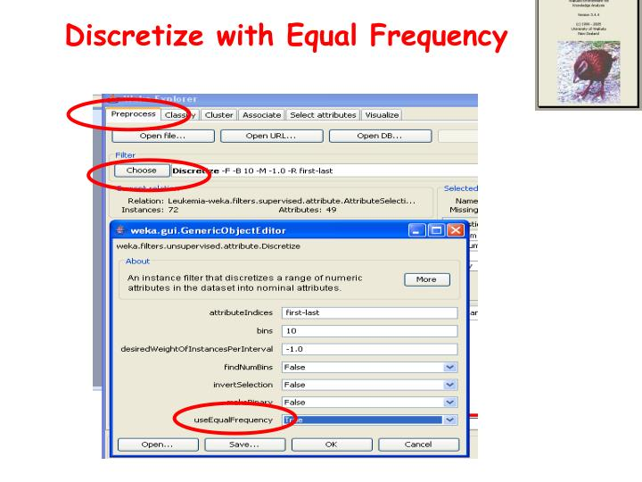 Discretize with Equal Frequency