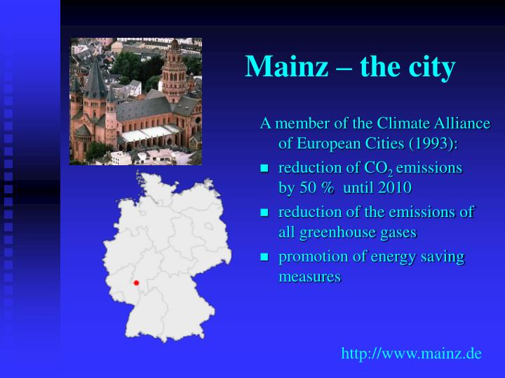 Mainz – the city