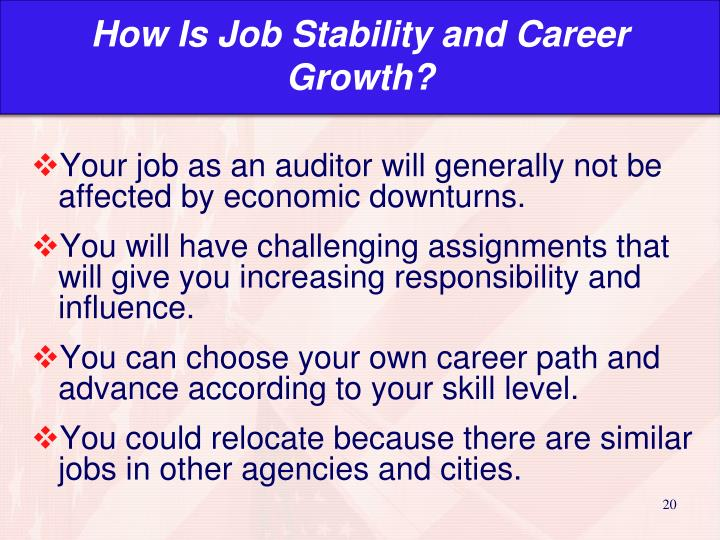 How Is Job Stability and Career Growth?