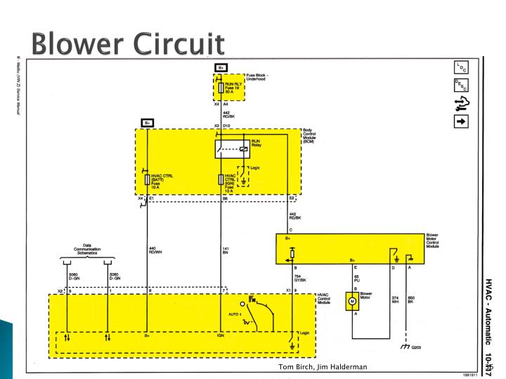 Blower Circuit