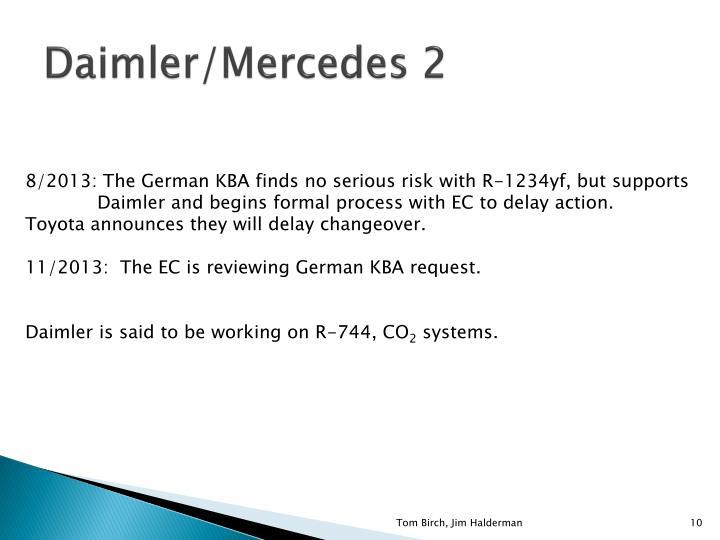 Daimler/Mercedes 2