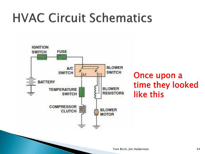 HVAC Circuit Schematics