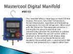 mastercool digital manifold