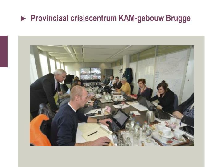 Provinciaal crisiscentrum KAM-gebouw Brugge
