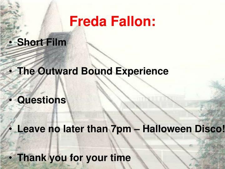 Freda Fallon: