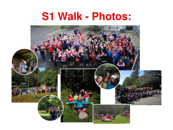 S1 Walk - Photos:
