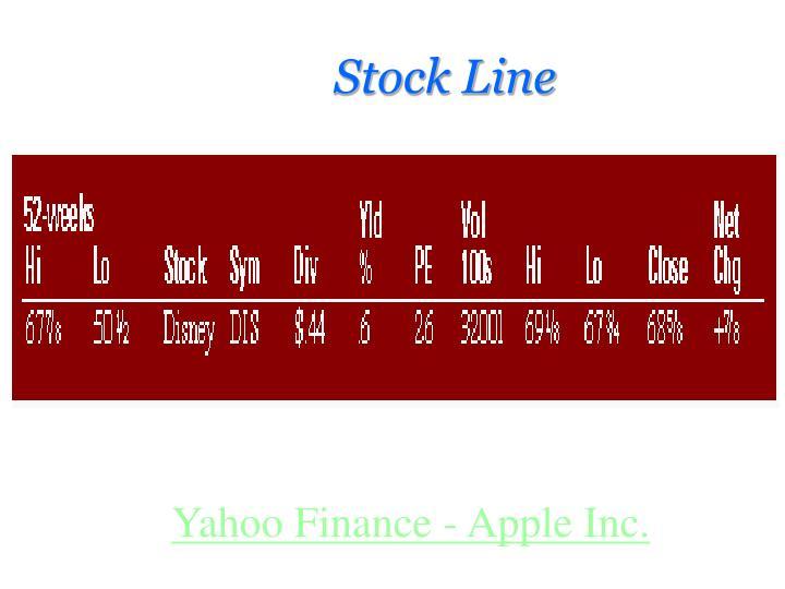 Stock Line