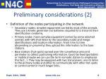 preliminary considerations 2