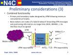 preliminary considerations 3