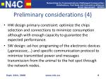 preliminary considerations 4