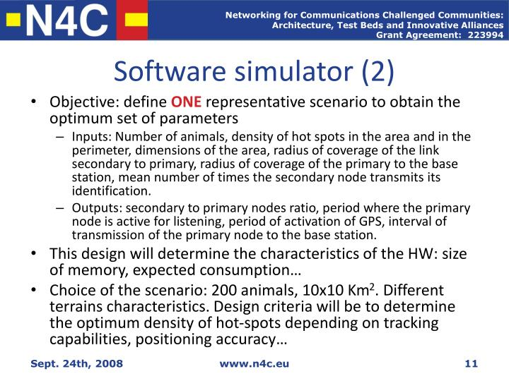 Software simulator (2)