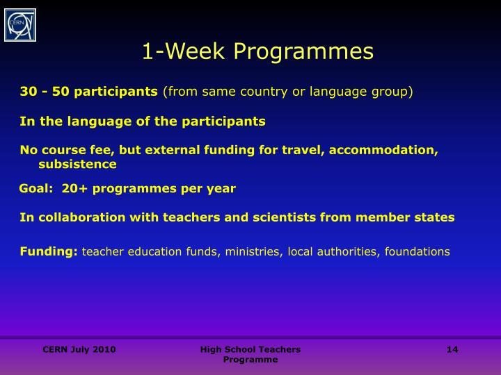 30 - 50 participants