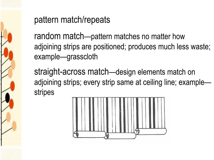 pattern match/repeats