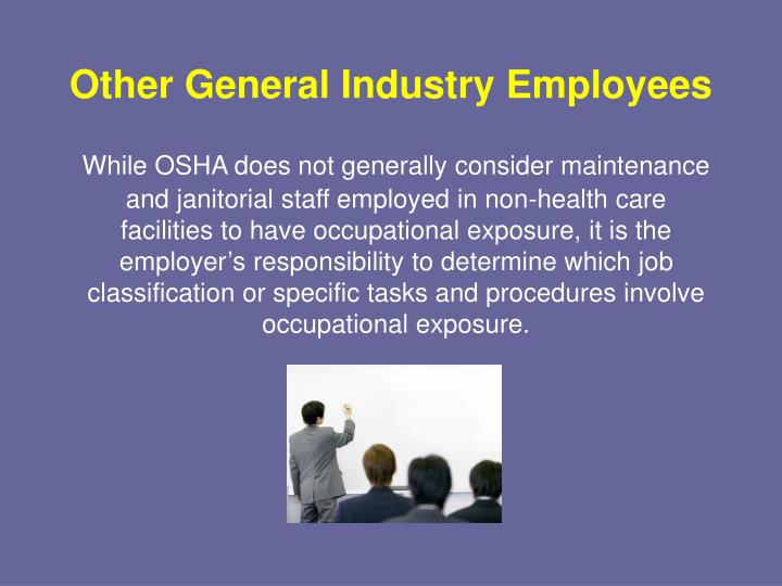 Other General Industry Employees