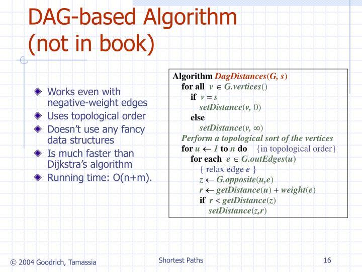 DAG-based Algorithm (not in book)