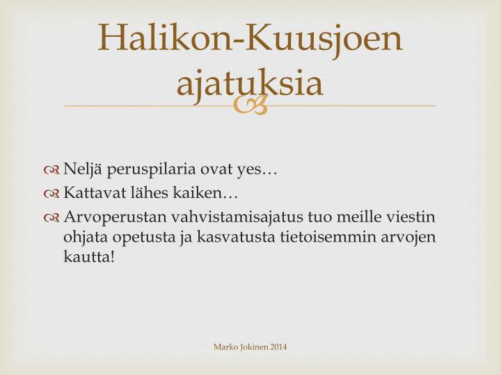 Halikon-Kuusjoen
