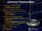 common deployables